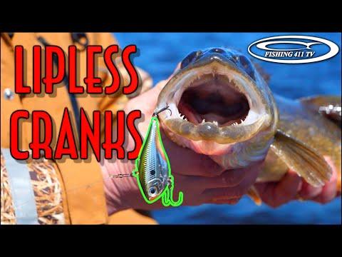 Fishing Lipless Cranks For Walleye