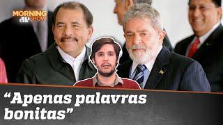 Lula dá conselho a ditador da Nicarágua