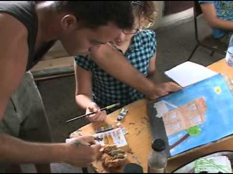 Taller de artes pl sticas para ni os con talento en for Casas plasticas para ninos