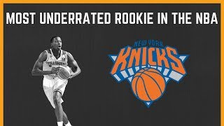 Frank Ntilikina is the most UNDERRATED Rookie in the NBA!