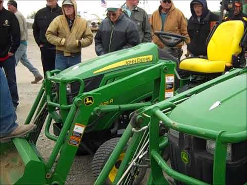 Auction Results Some Tractors Tri Green 10 25 2018