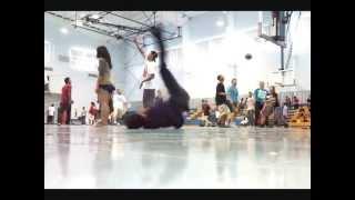 Saipan | BREAKDANCE FAIL! | Windmill To Ball To The Head!