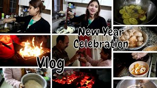 Vlog : Naye saal pe. pheli bar barbeque..kia