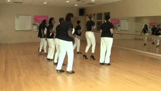 The Line Dance Connection  performing Sugar Shack