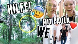 WM Wochenende, Kletterpark trotz Höhenangst und was Katniss Everdeen damit zu tun hat xD  - Vlog 32