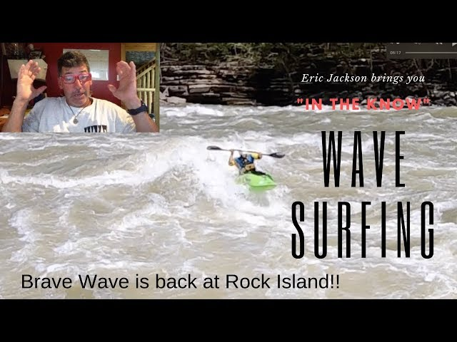 Wave Surfing in a Kayak- a Brave Wave Experience...