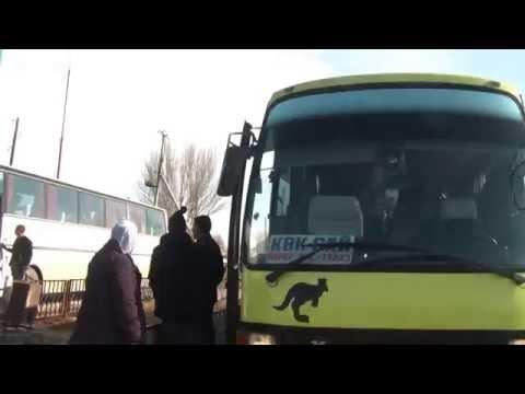 [Kyrgyzstan] Gas station, Kazakh border | Бензоколонка | 찰디바르 국경앞 주유소 @ Sypatai Batyr (Chaldybar)