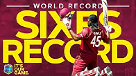 WORLD RECORD Number Of Sixes In An Innings | Windies Finest