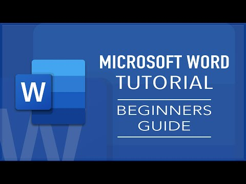 Microsoft Word Tutorial For Beginners | How To Use Microsoft Word | Easy Guide