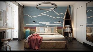 видео Дизайн однокомнатной квартиры в панельном доме: отделка хрущевки своими руками