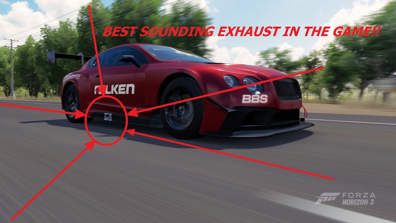 Best Sounding Car Forza