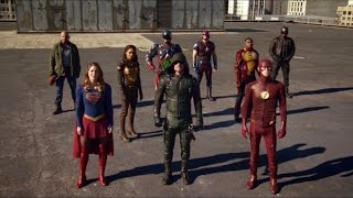 The Crossover - Team Arrow, Team Flash, Team Legends and Supergirl vs The Dominators -PART2-