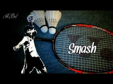 Who is the badminton master of the smash? - NEW VERSION