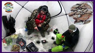 Зимняя рыбалка на водохранилище закон одной палатки и двух рыбаков
