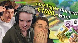 1000 EURO DONEREN AAN STREAMERS!