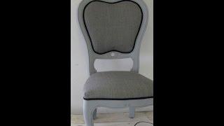 Zelf een stoel bekleden – Stof en Steen