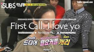 Monday Couple Moment 1: Kang Gary & Jihyo