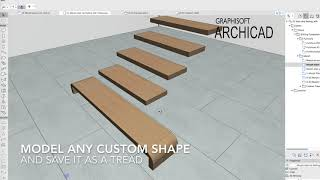Custom Stairs in ARCHICAD