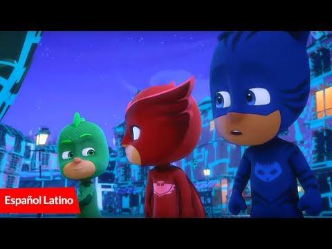 Los Heroes en Pijamas Pj masks latinoamericano capitulos nuevos-Gecko y el Caos en el museo