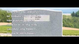 Denis Glover: Epitaph