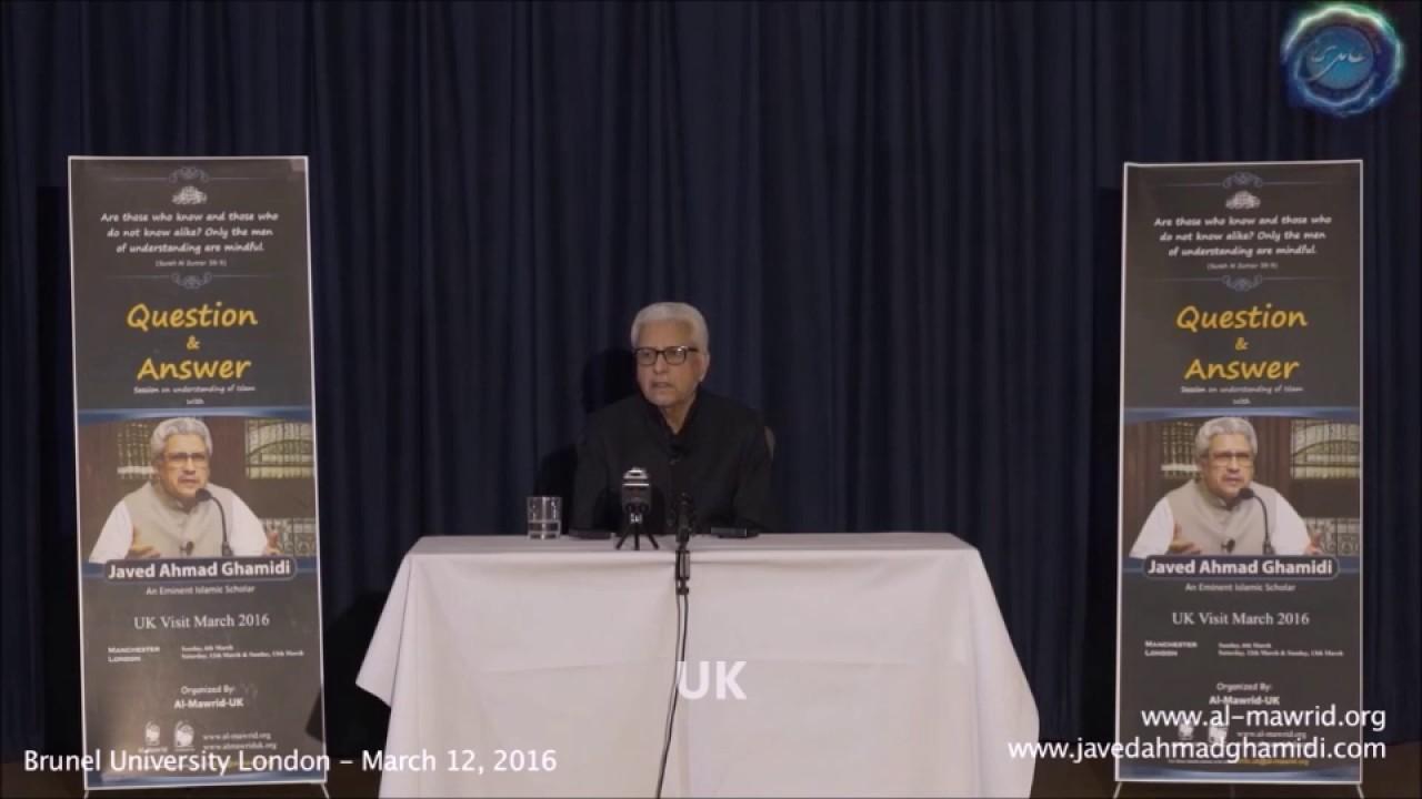 Why is Islam a Patriarchal Religion? | Javed Ahmad Ghamidi