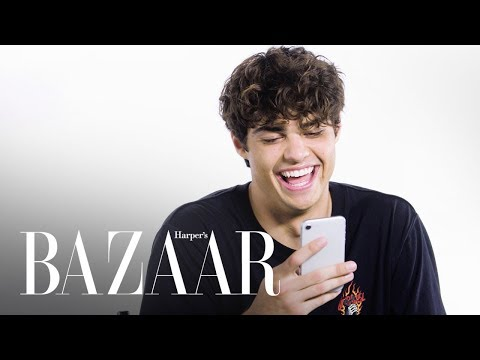 Noah Centineo Responds To Your Thirsty Memes | #HashtagYourself | Harper's BAZAAR