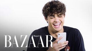 Noah Centineo Responds To Your Thirsty Memes | #HashtagYourself | Harper