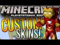 Minecraft PS4 & XBOX One (Console) Edition - CUSTOM SKINS!