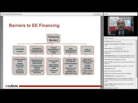 Financing Energy Efficiency: Lessons from International Experience
