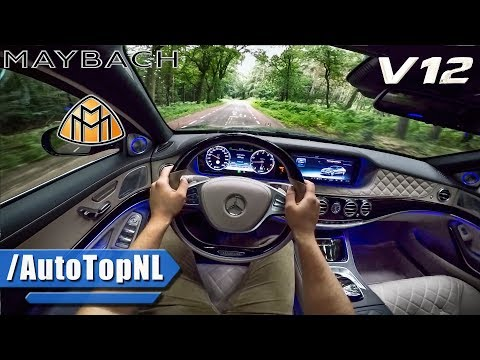 MERCEDES MAYBACH S600 6.0 V12 BiTurbo POV Test Drive by AutoTopNL