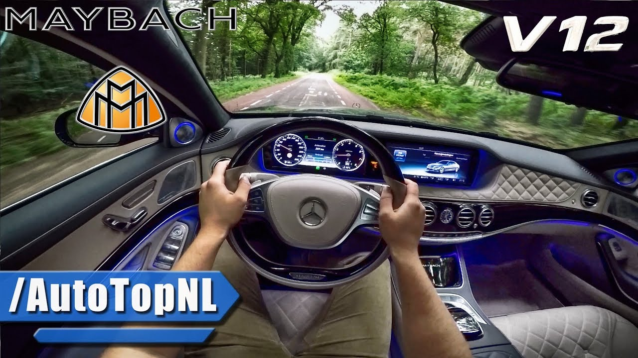 mercedes maybach s600 6 0 v12 biturbo test drive by