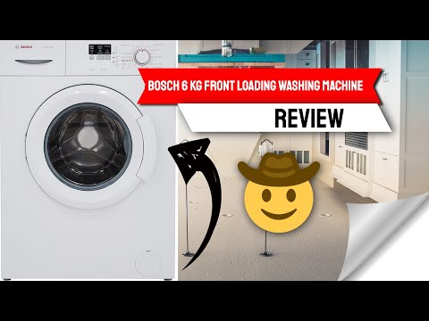 Bosch 6 kg Fully-Automatic Front Loading Washing Machine Review