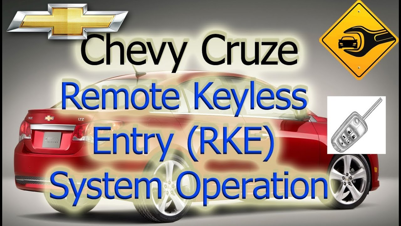 Chevrolet Cruze Owners Manual: Remote Keyless Entry (RKE) System Operation