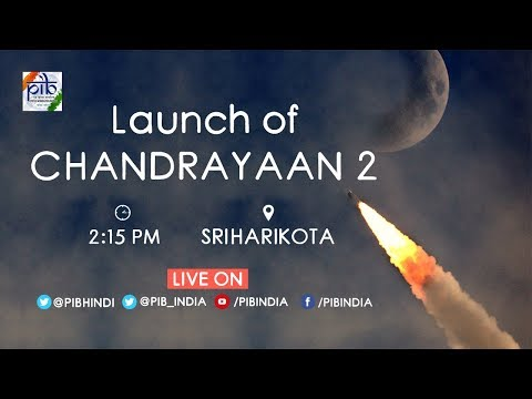 Launch of Chandrayaan