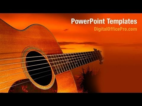 Acoustic jazz guitar powerpoint template backgrounds acoustic jazz guitar powerpoint template backgrounds digitalofficepro 05536w toneelgroepblik