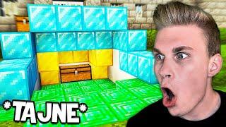 Zrobiłem TAJNĄ SKRYTKĘ pod WIĘZIENIEM w Minecraft!