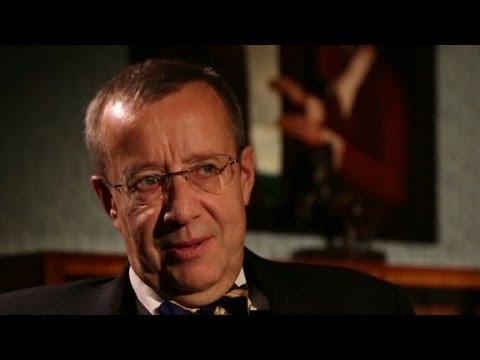 Estonian presdient says EU deal would benefit Ukraine.