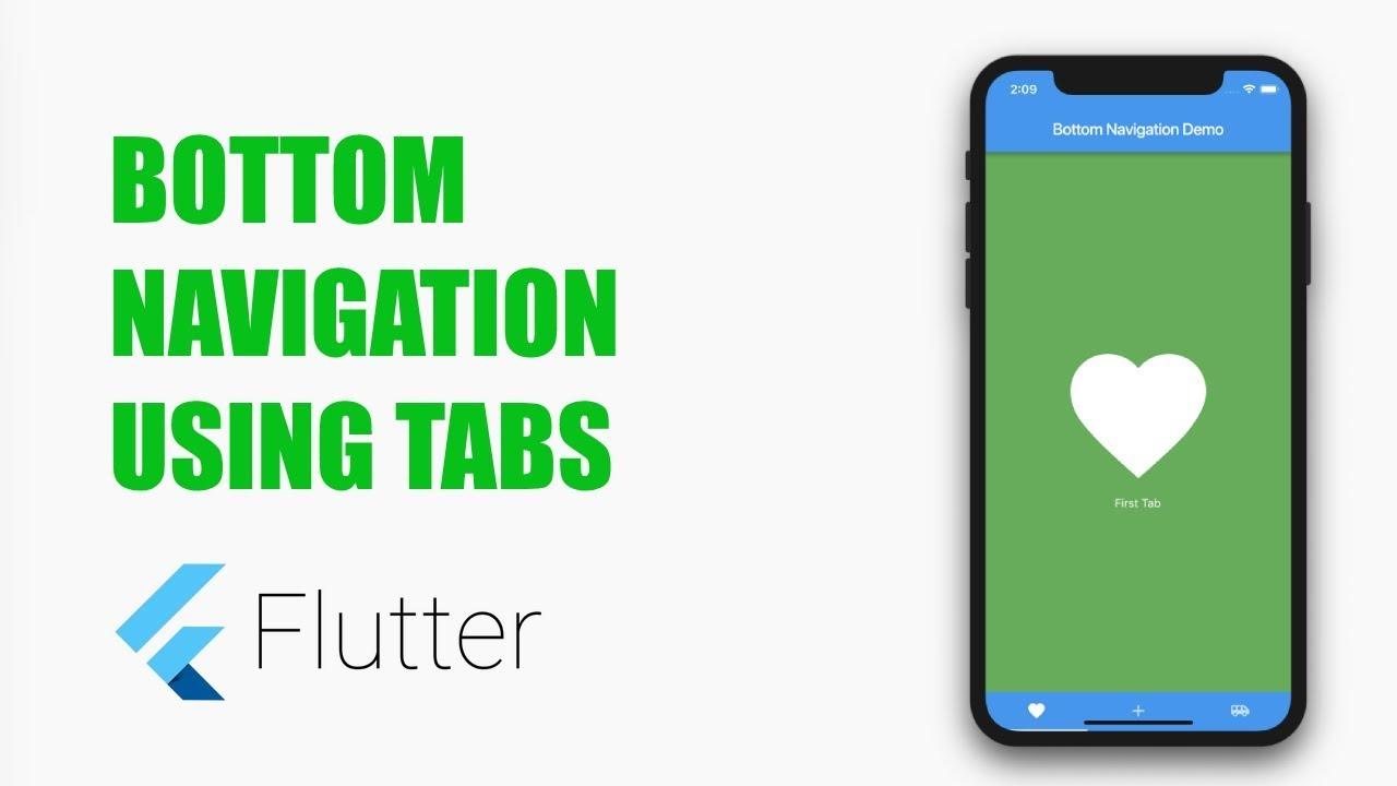 Bottom Navigation in Flutter – MOBILE PROGRAMMING