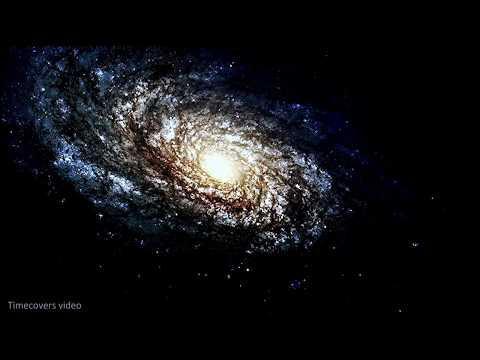 NASA-Hubble telescope captured galaxies the Universe.   4K Ultra HD