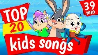 The 20 Best Kids Songs | Clap Clap Kids