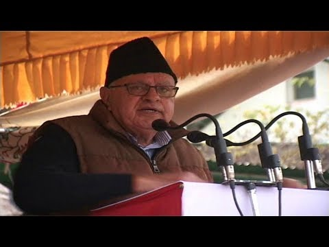 Farooq Abdullah :Pok is not your Baap ka Hissa