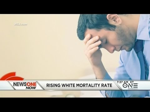 New Study Reveals An Unusual Increase In White Mortality Rates