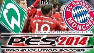 Let´s Play PES 2014 [HD+][deutsch/german] #014 | Werder Bremen vs. FC Bayern München