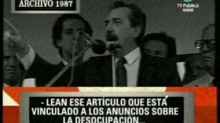 Alfonsin contra Clarín