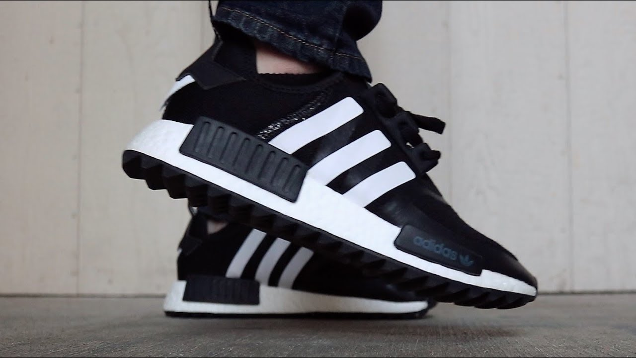 3ff684063 NMD R1 White Mountaineering Unboxing + On Feet Review - YouTube