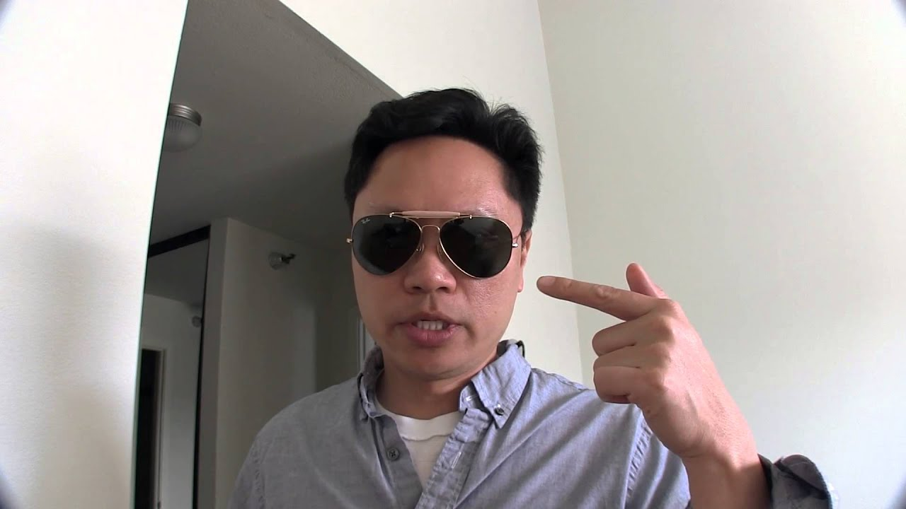 84ecfd5d525 You decide - Ray-Ban Outdoorsman 2 vs. Aviator Sunglasses - YouTube