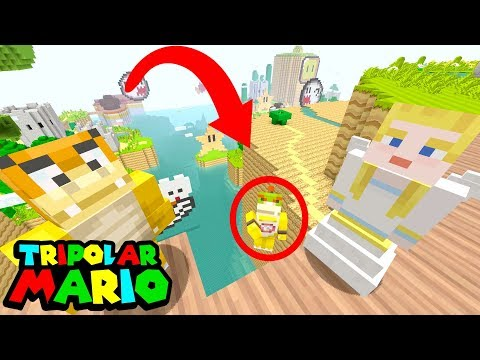 BOWSER JR'S MOM SAVES HIM FROM DEATH! | Nintendo Fun House | Mincraft Switch [316]