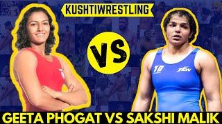 y7 Sakshi Malik vs Geeta Phogat