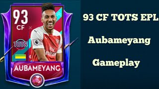 93 CF TOTS EPL Aubameyang Gameplay In Fifa Mobile 19 / Koko The Roblox Player