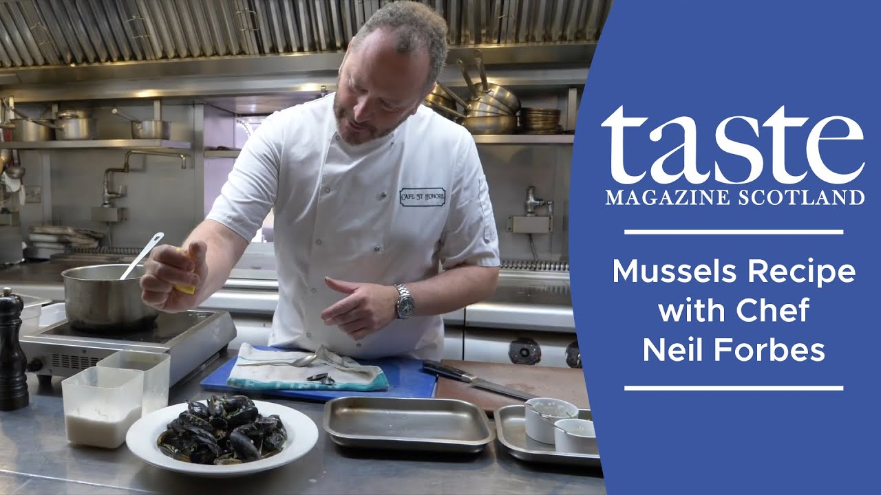 Mussels Recipe with Chef Neil Forbes
